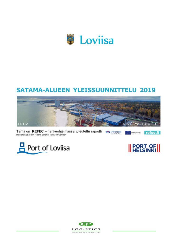 thumbnail of Loviisan kaupunki Loviisan Satama Oy YS 2019__31 01 2020 VJ valmis-1