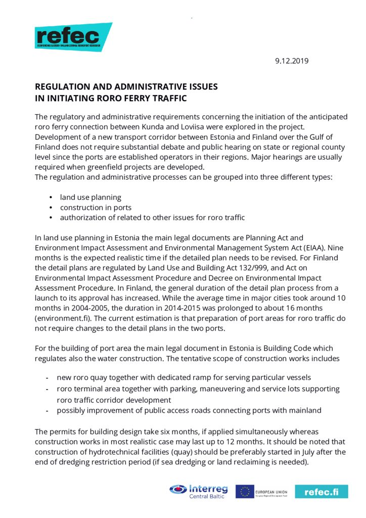 thumbnail of Newsletter 9 Regulations issues 9 Dec 2019_OK